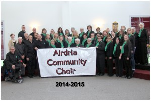 Airdrie Community Choir Logo
