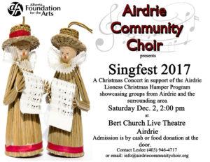 Singfest 2017 Poster